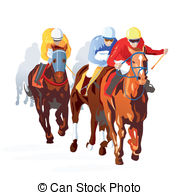 Horse racing clipart free 5 » Clipart Station.
