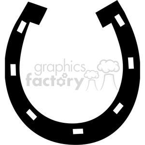 horseshoe clipart. Royalty.