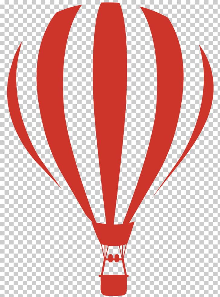 Hot air balloon Black and white , air balloon PNG clipart.