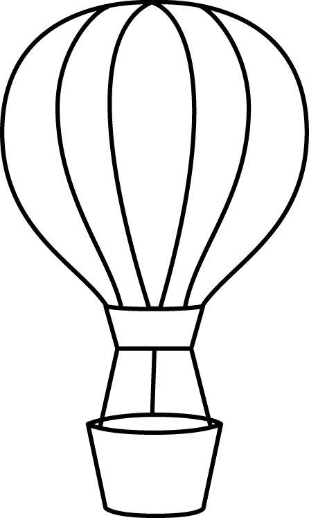 1779 Hot Air Balloon free clipart.