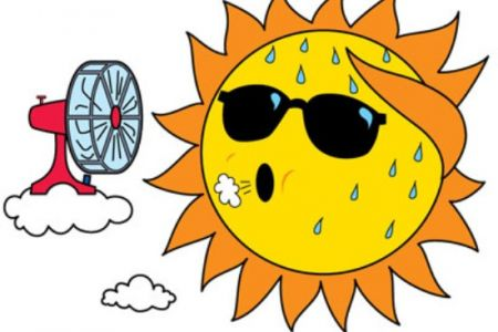 345 Hot Weather free clipart.