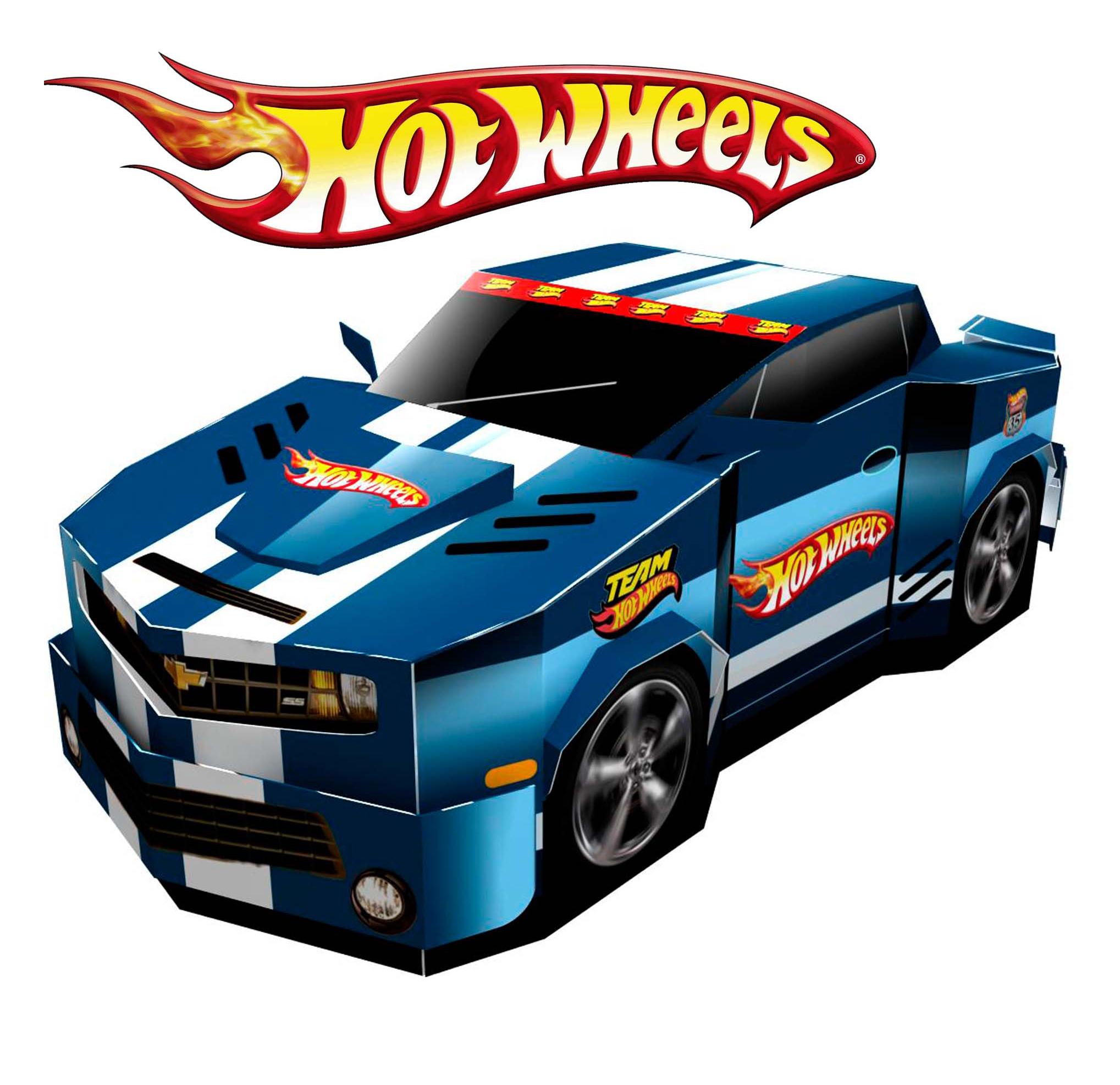 Hot Wheels Cars Clip Art N9 free image.
