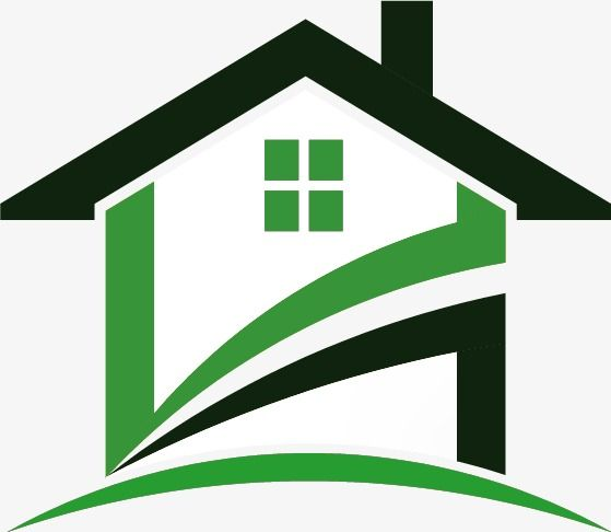 Creative Logo Creative, Logo Vector, Green, Houses PNG and Vector.