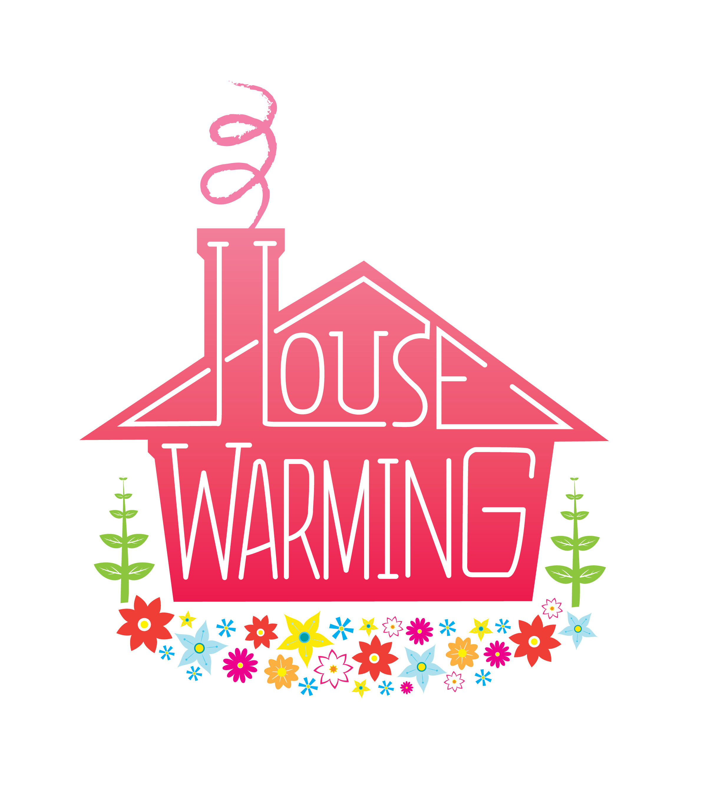 Free House Warming Clipart.