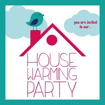 House Warming Clipart.