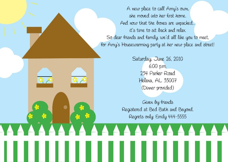 Free Printable Housewarming Party Templates.