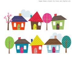 Clipart Images Of House Warming.