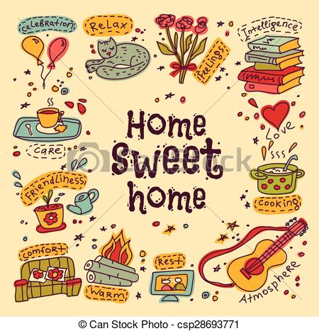 Housewarming Clipart Vector Graphics. 263 Housewarming EPS clip.