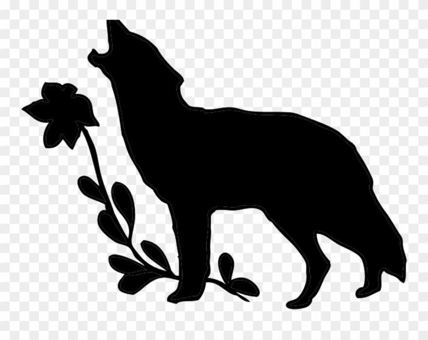 Free Howling Wolf Clipart, Download Free Clip Art,.