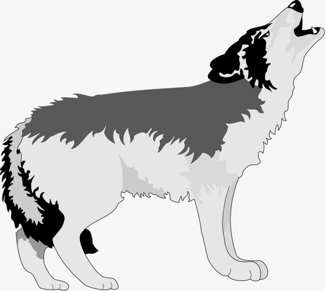 Free howling wolf clipart 5 » Clipart Portal.