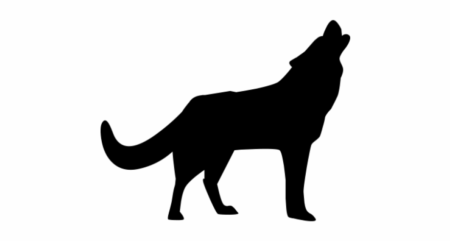 Howling Wolf Clipart Png.
