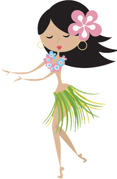 Free Hula Girl Clipart Group with 18+ items.