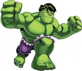 Free Hulk Clipart Image.