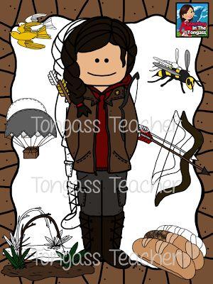 Hunger Games Clip Art.