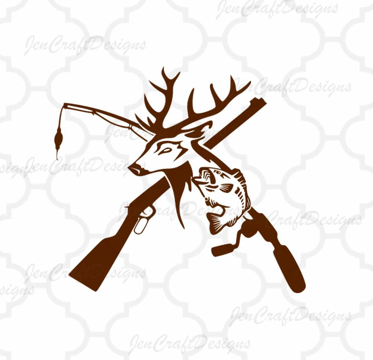 Deer And Fish Clipart.
