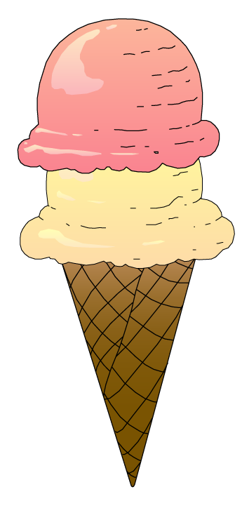Ice cream cone clip art vanilla ice cream cake clipart.
