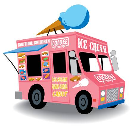 1,601 Ice Cream Van Cliparts, Stock Vector And Royalty Free Ice.