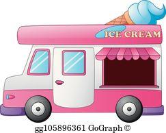 Royalty Free Ice Cream Truck Clip Art.