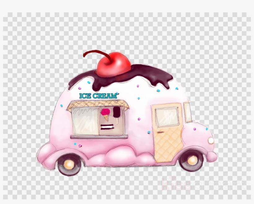 Ice Cream Truck Clipart Ice Cream Cones Van.