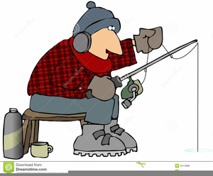 Free Clipart Ice Fishing.