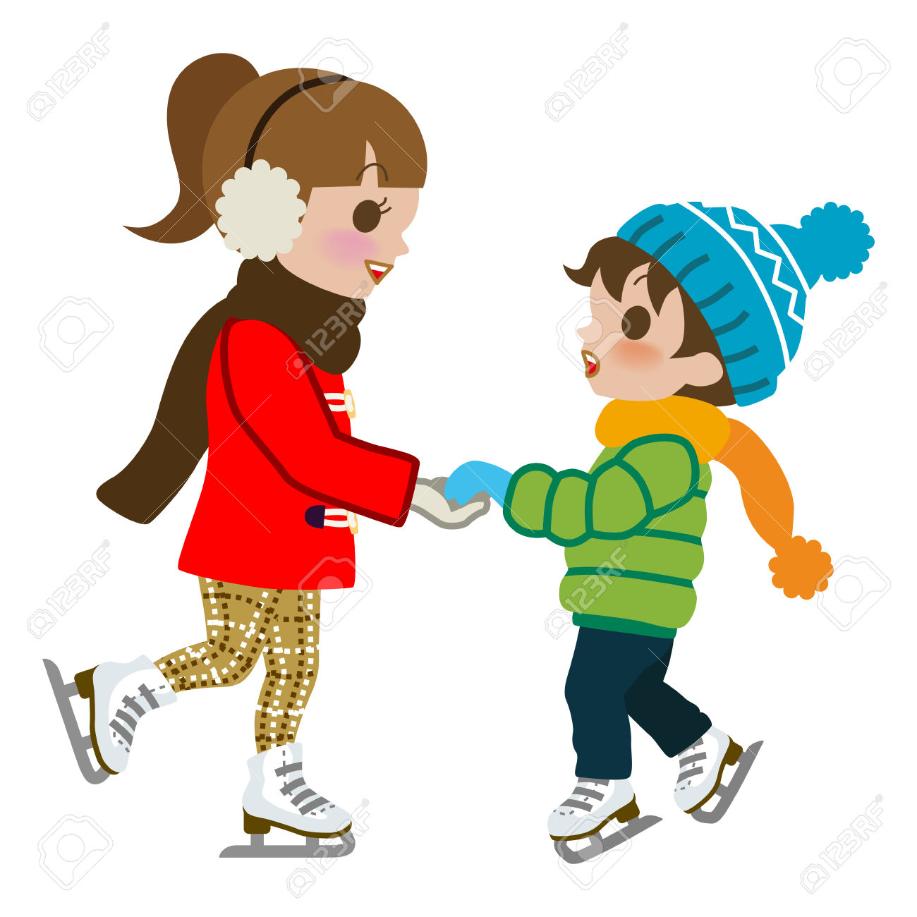 ice skating clipart images - Clipground