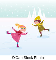 Ice skating Clip Art and Stock Illustrations. 10,064 Ice skating.