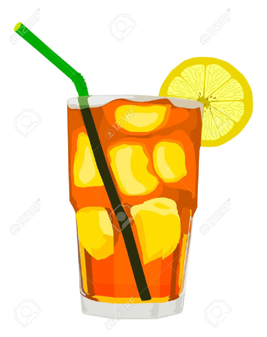 Free iced tea clipart 3 » Clipart Station.