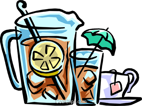 Free iced tea clipart.