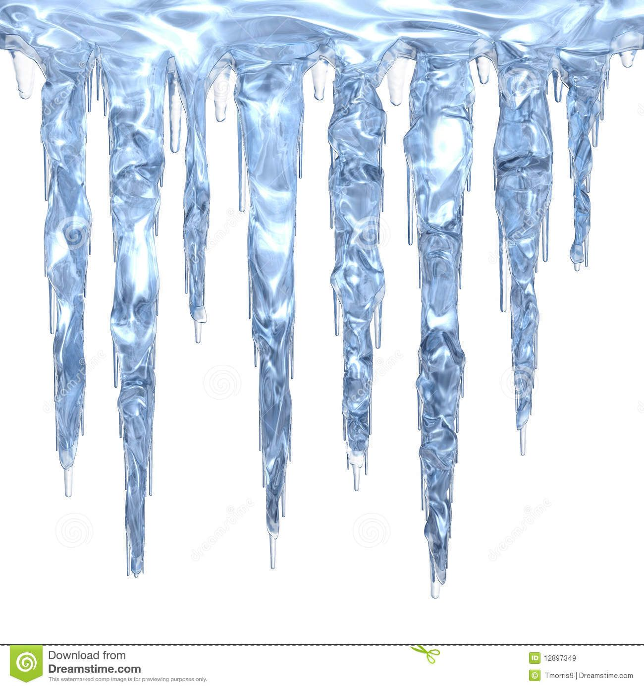 Icicles clipart single, Icicles single Transparent FREE for.