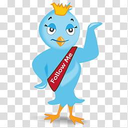 TWEETA A Free Twitter Icon Set, tweeta_, teal and yellow.