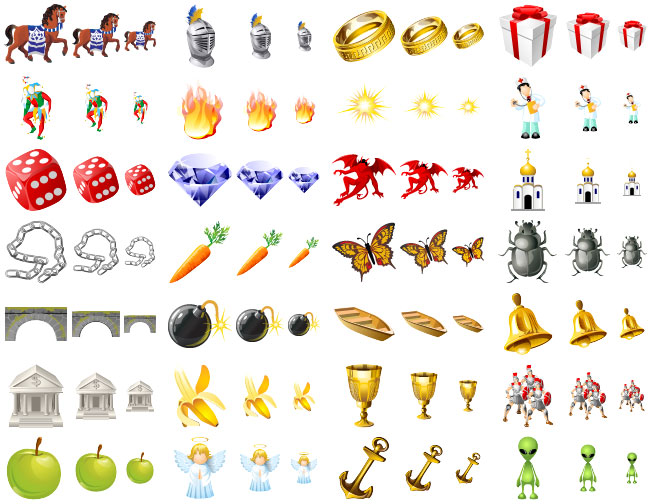 Free Game Icons.