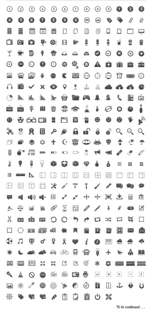 13 Free Glyph Icon.png Images.