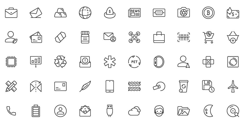 Best Free Icon Sets 2019.