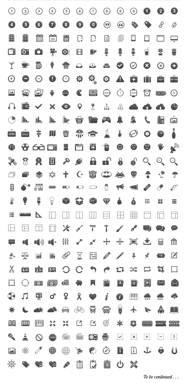 Free Icons Set designed by Brankic1979.
