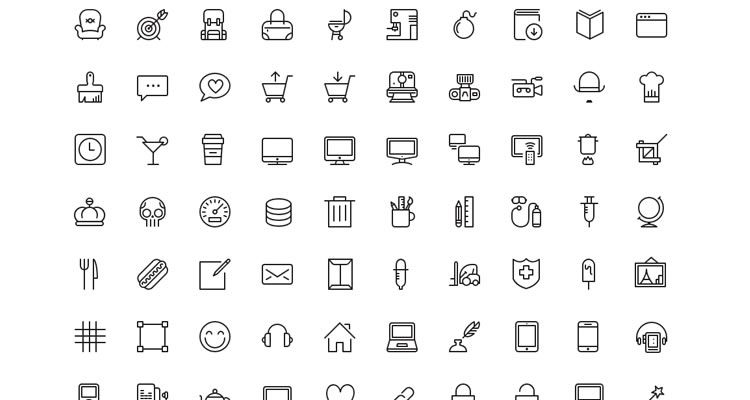 Top 50 Free Icon Sets from 2014.