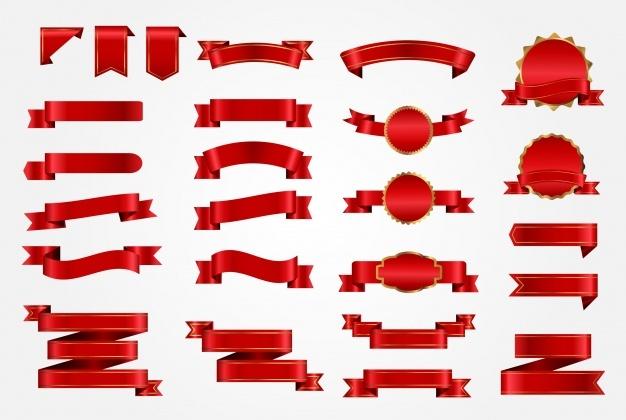 Ribbon Vectors, Photos and PSD files.
