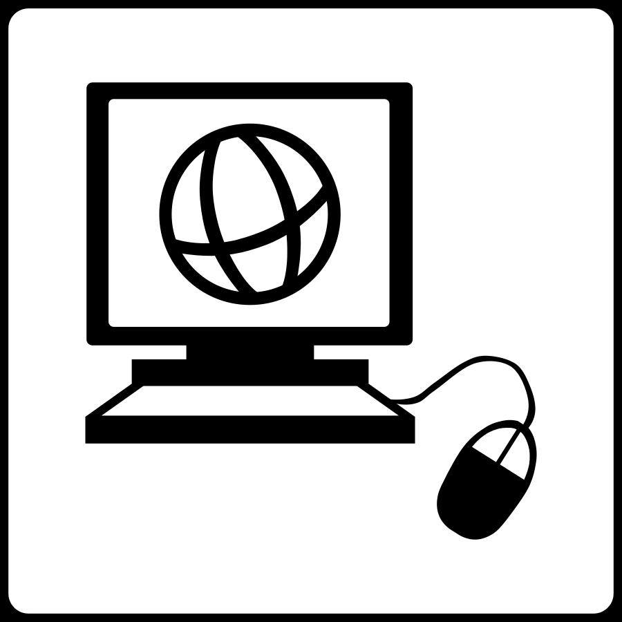 internet zazou Clipart, vector clip art online, royalty free.