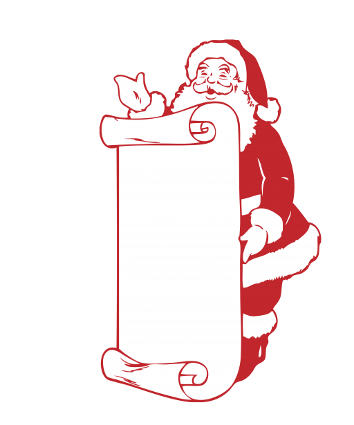 Christmas Santa Clip Art Free Stock Photo.