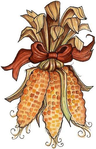 Indian corn.