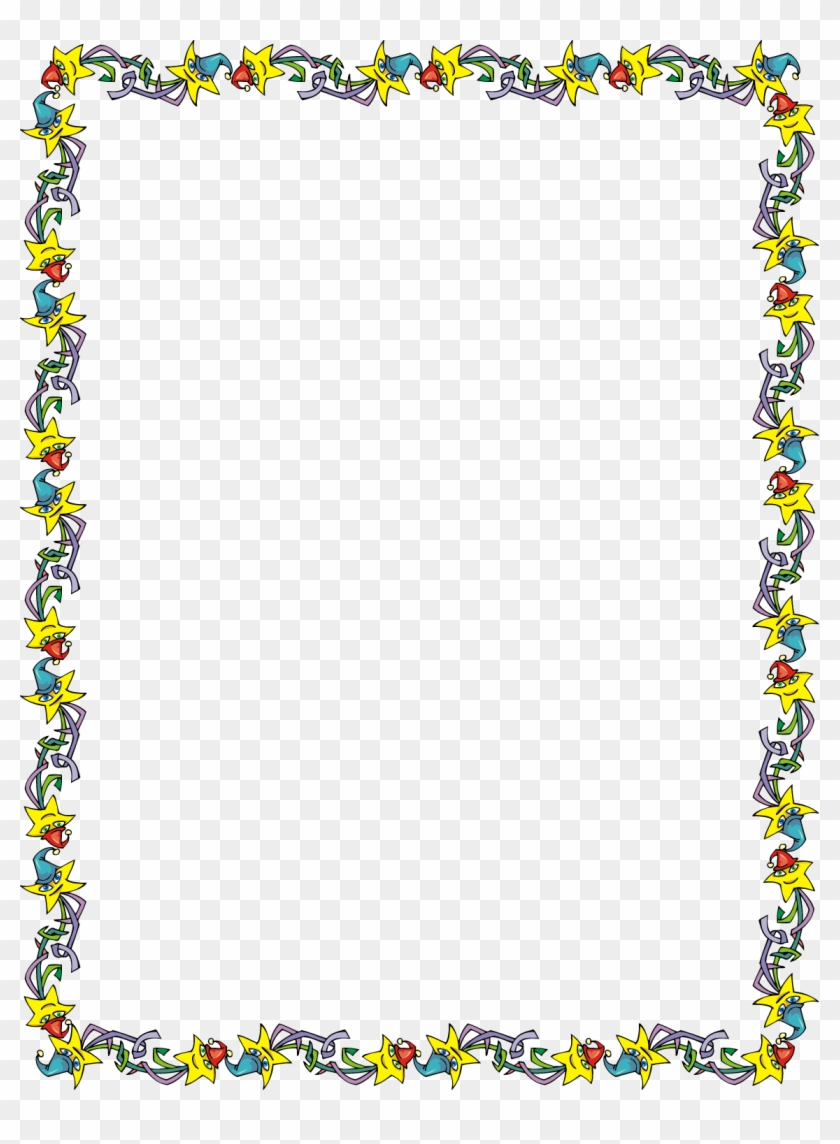 Free Star Party Invitation Border Clip Art Image From.