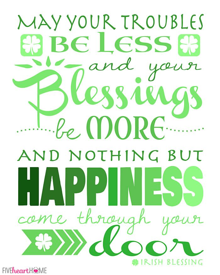 17+ best ideas about Irish Birthday Blessing on Pinterest.