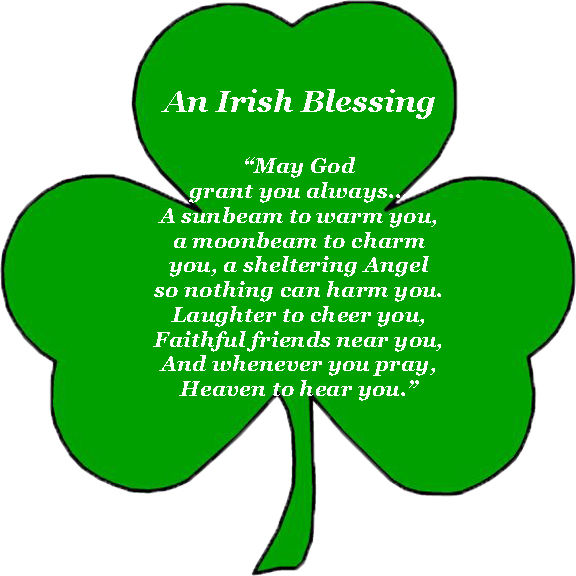 picture regarding Free Printable Clipart for St Patrick's Day named absolutely free irish blessing clipart 20 free of charge Cliparts Obtain
