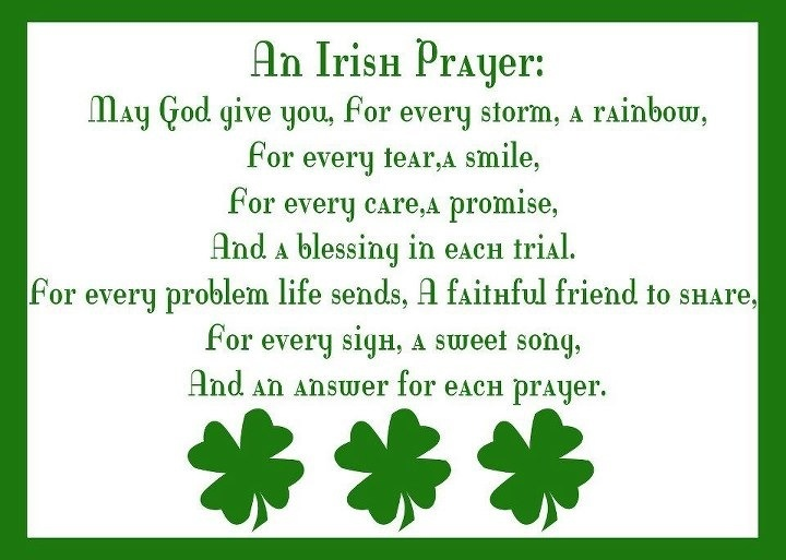 17 Best images about Irish Prayers on Pinterest.
