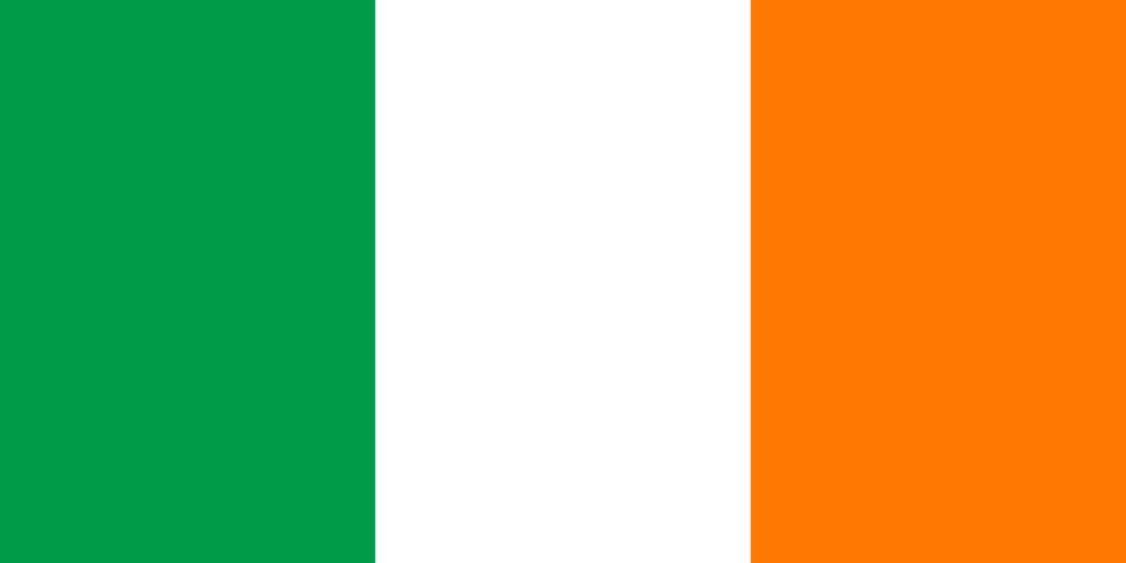 Ireland flag clipart.