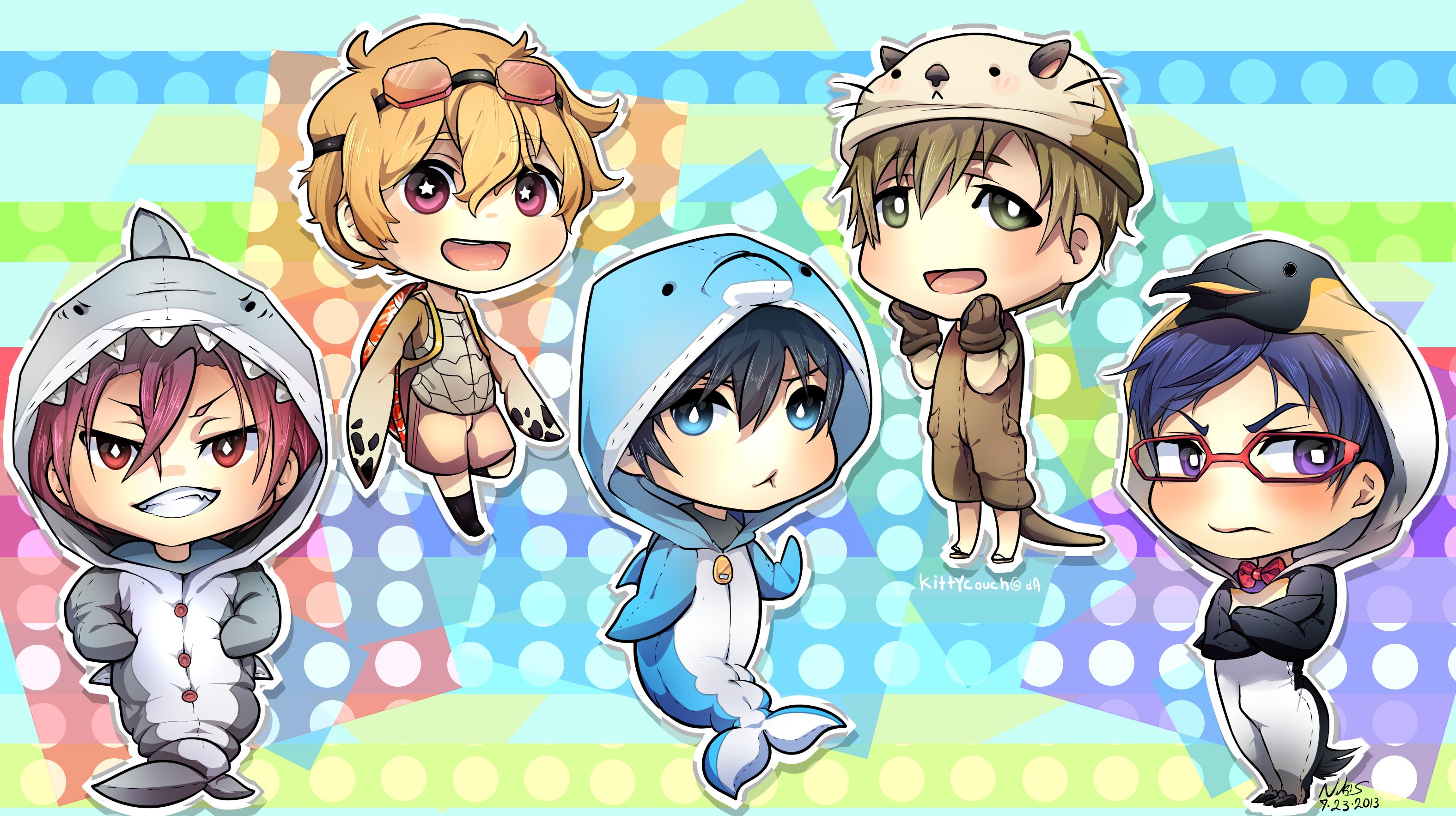 Free! Iwatobi Swim Club Wallpaper.