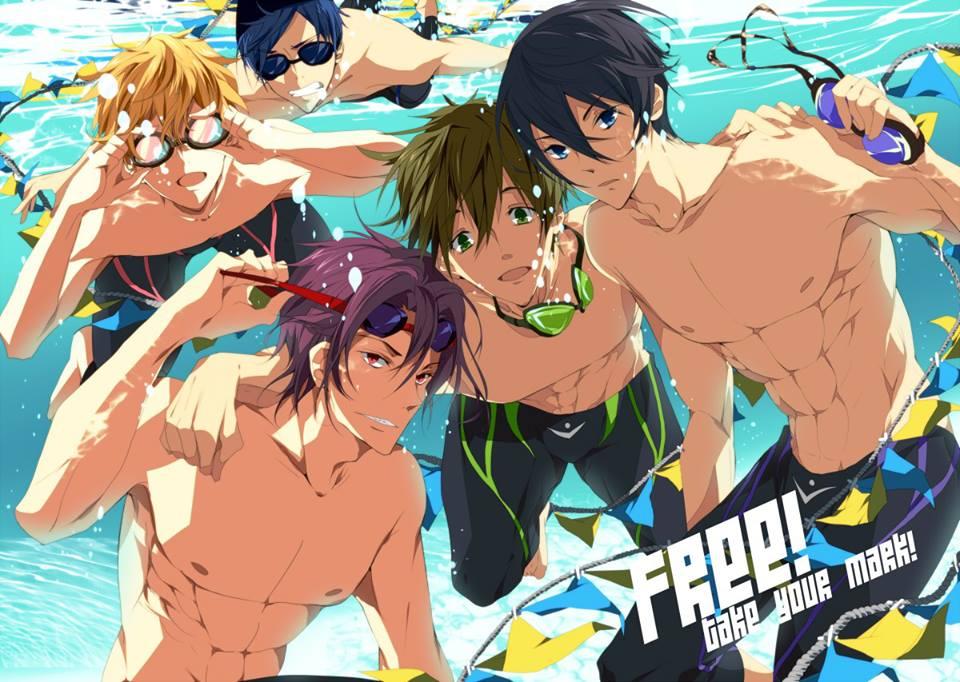 Anime Swimsuit Clipart.