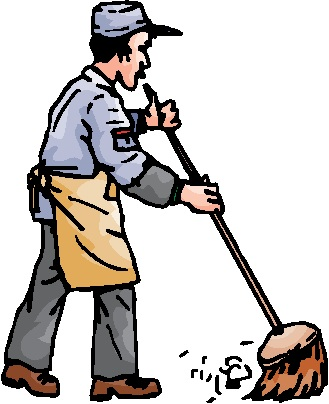 Free Janitor Clipart Black And White, Download Free Clip Art.