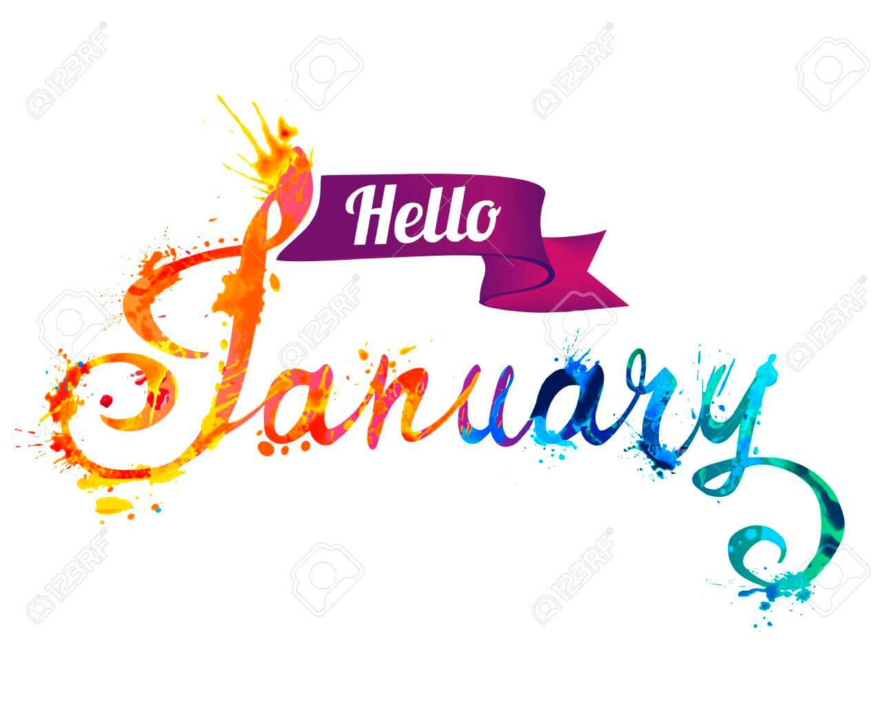 Month January 2019 January Clipart.