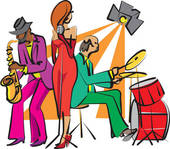 Jazz Band Clip Art.