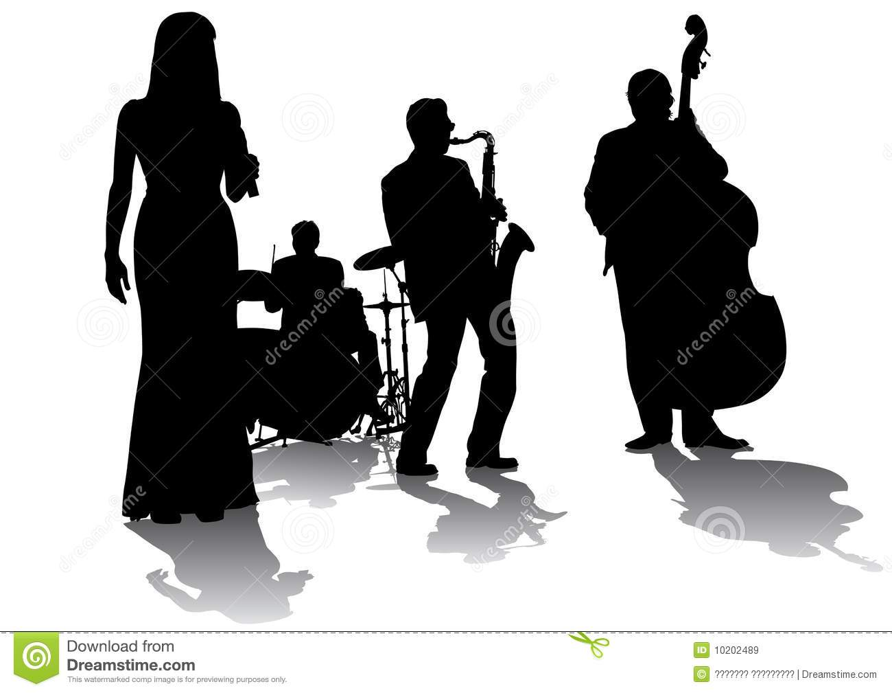 Jazz Stock Illustrations.